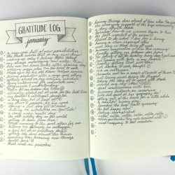 <b>Gratitude Log by Kara Benz at Boho Berry</b> </br>And here's another one of Kara's for all of us non-artsy folk!