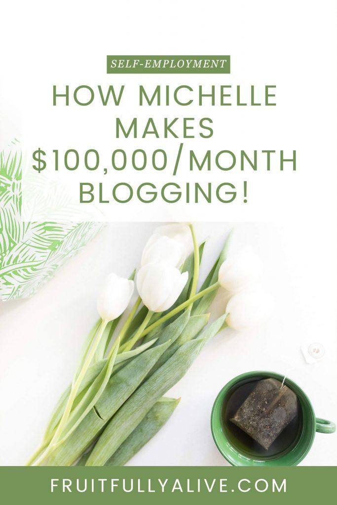 blogger interview | blogging | make $100000 | six figure income