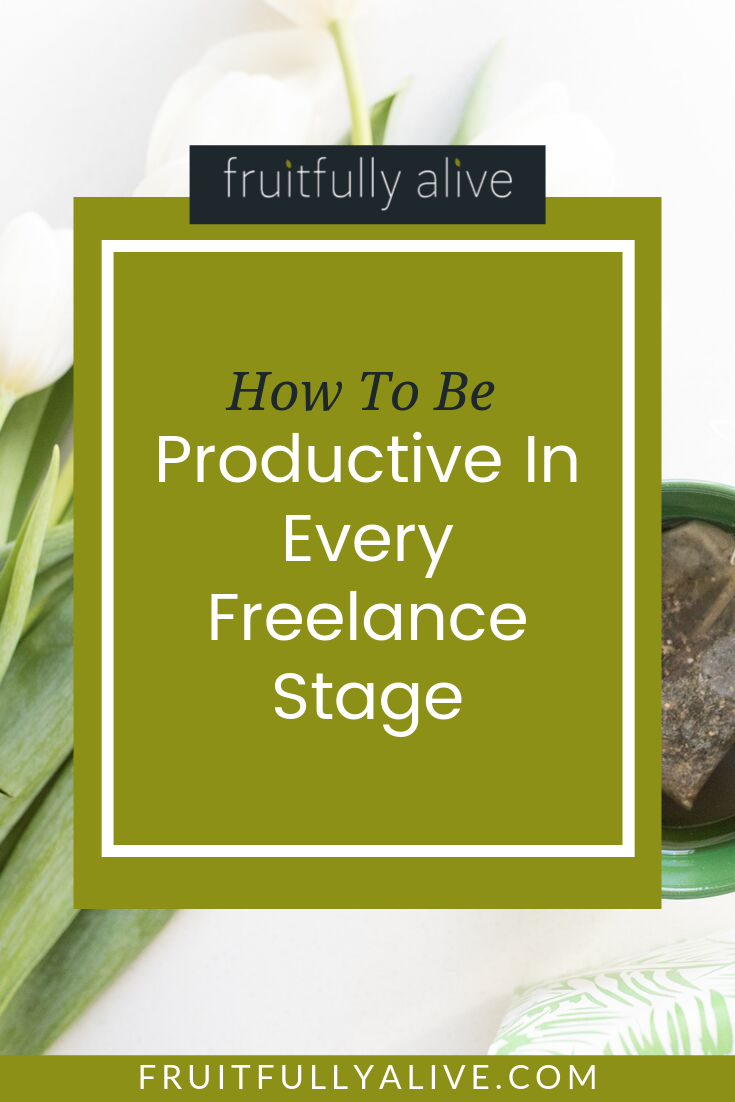 How To Be Productive In Every Freelance Stage