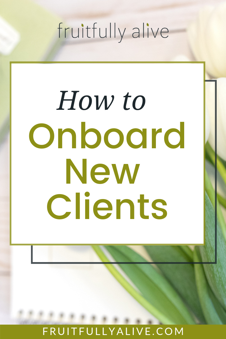 How to Onboard New Clients