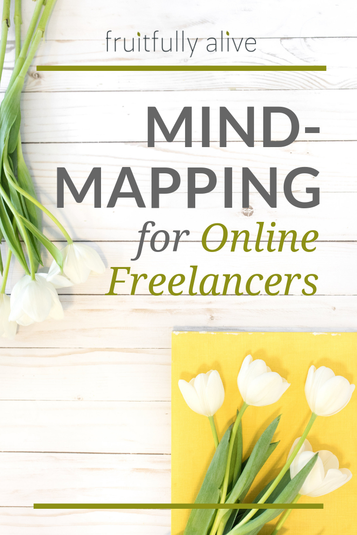 Mind-mapping for Online Freelancers.