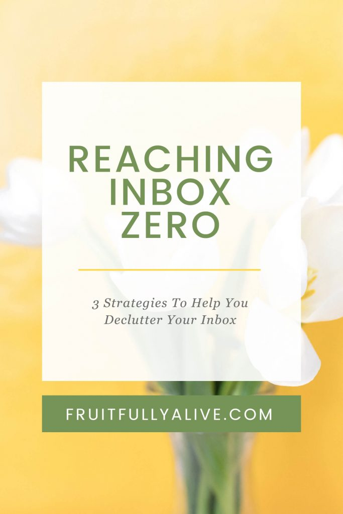 inbox zero | email decluttering | sort email | sorting email | declutter your inbox
