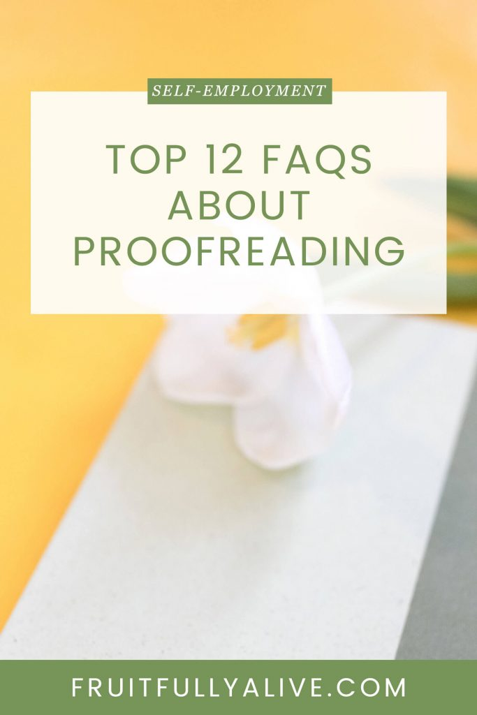 proofreading | make money | self-employment | entrepreneur | business | work from home | proofread and get paid | and get paid